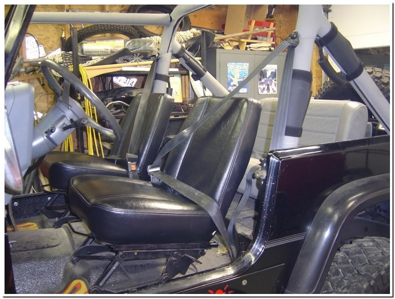 1994 Jeep Wrangler Seat Belt Replacement
