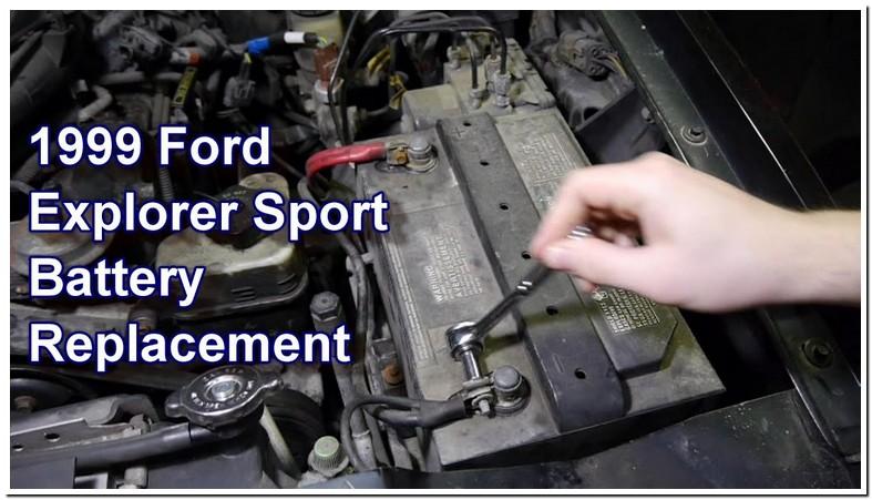 1998 Ford Explorer Sport Battery