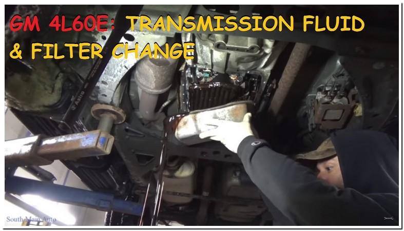 2002 Chevy Trailblazer Transmission Fluid