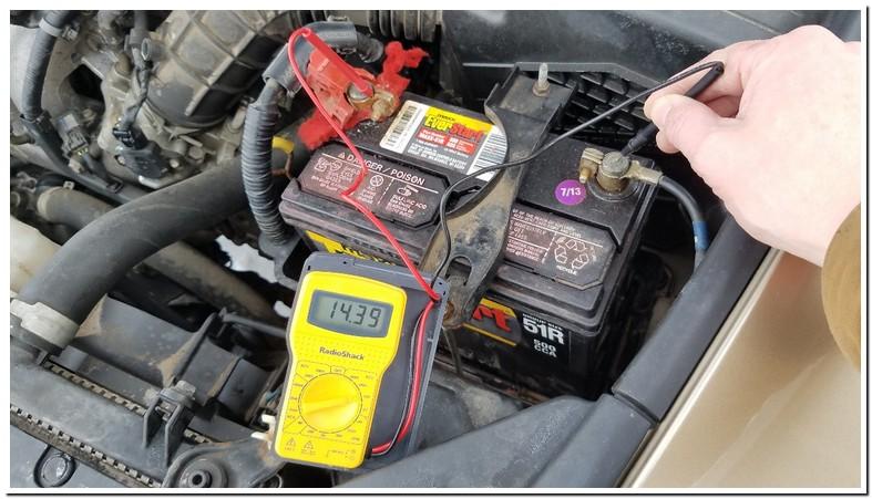 2002 Toyota Corolla Battery Voltage