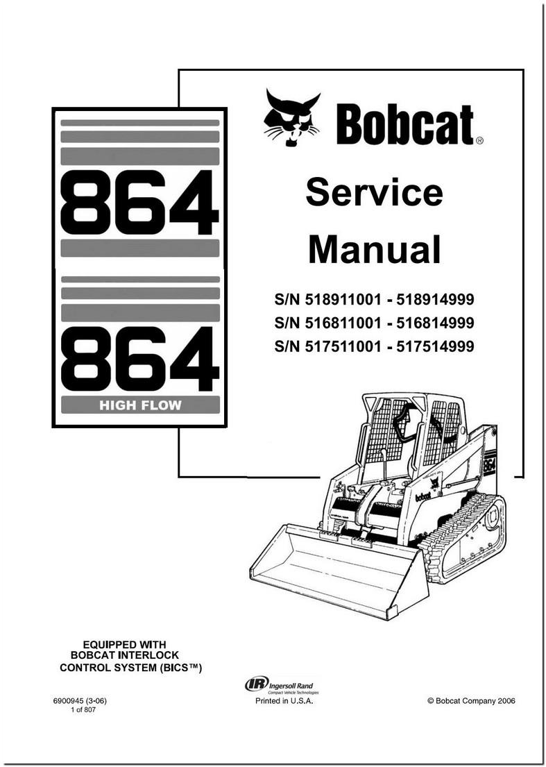 2003 Bobcat 864 Specs