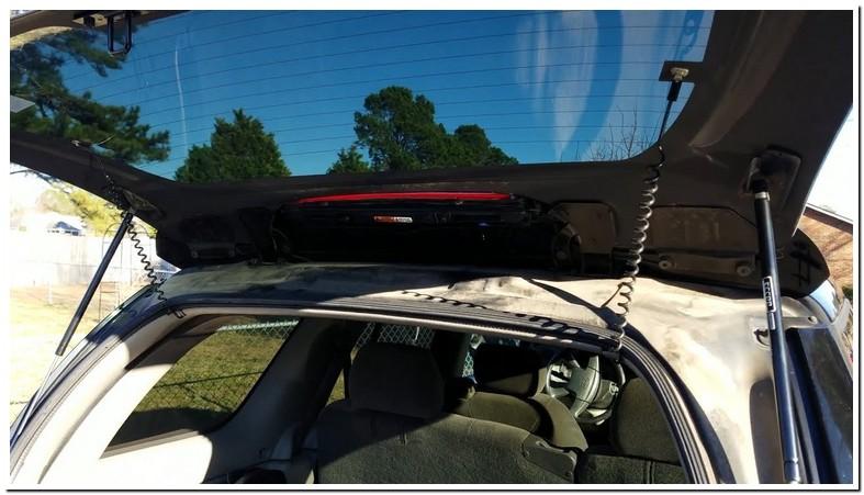 2003 Chevy Trailblazer Rear Window Replacement