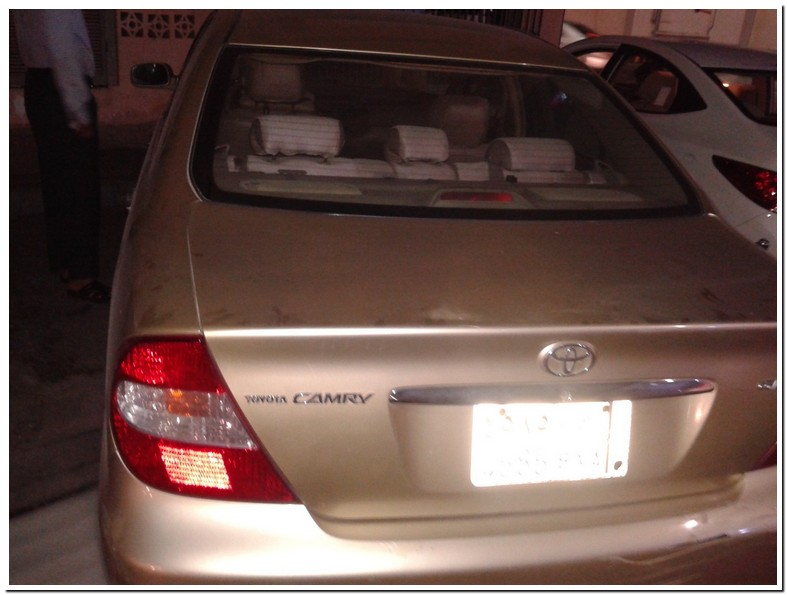 2003 Toyota Camry Xle Oil Type