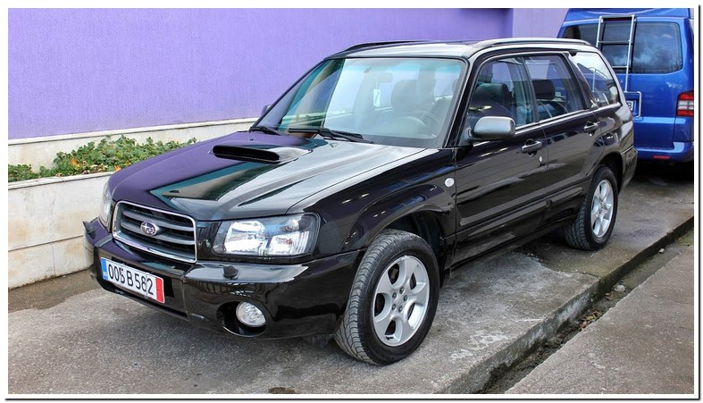 2004 Subaru Forester 2.0 Xt Turbo Review