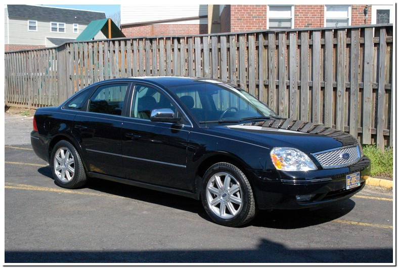2005 Ford 500 Sel Awd