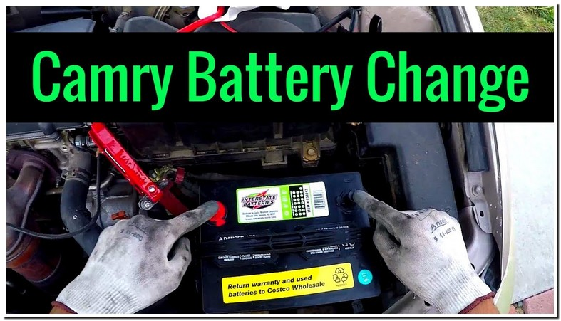 2005 Toyota Camry Battery Replacement