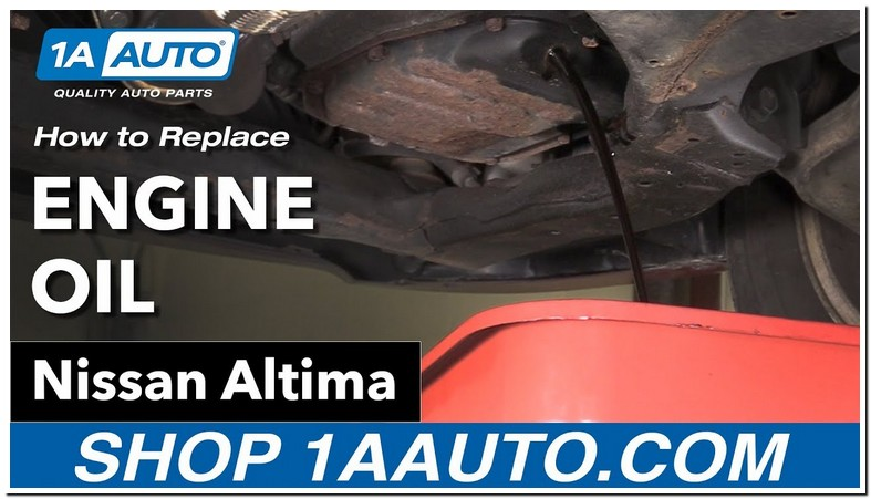 2006 Nissan Altima Engine Oil Capacity