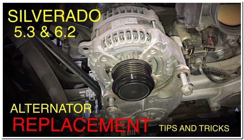 2007 Chevy Silverado Alternator Replacement