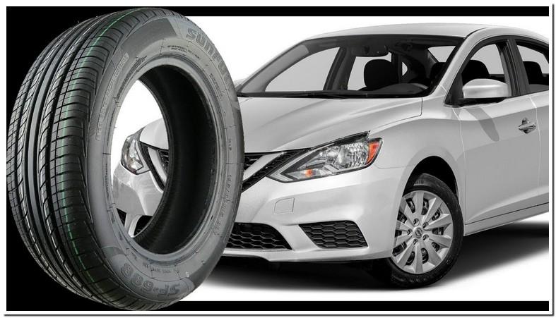 2007 Nissan Sentra Stock Tire Size