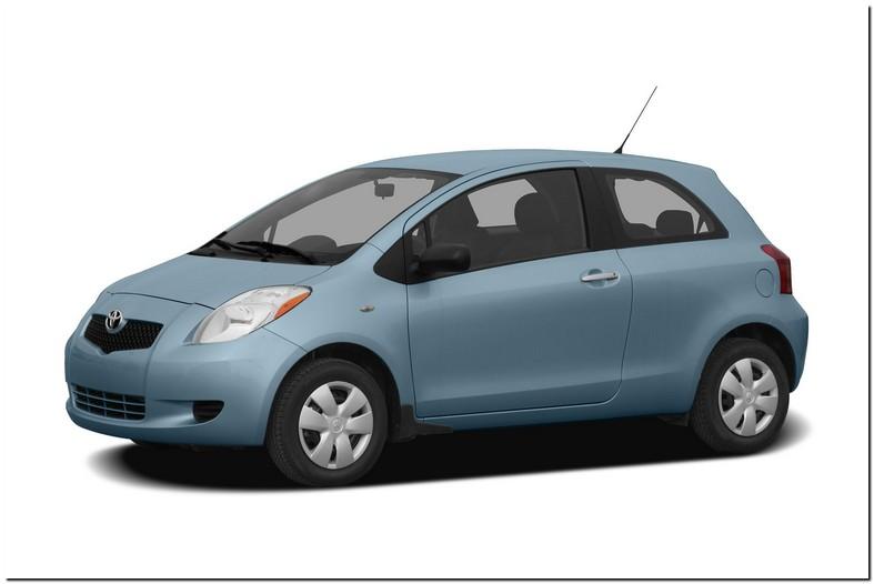 2007 Toyota Yaris Stock Tire Size
