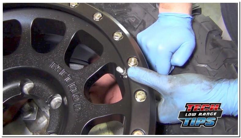 2008 Toyota Camry Tire Pressure Sensor Replacement