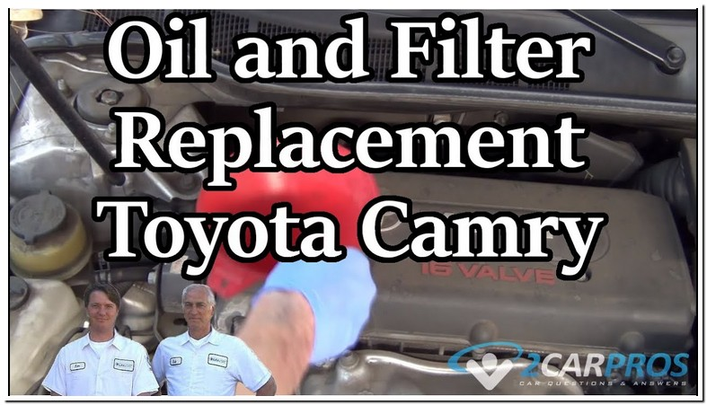 2009 Toyota Camry 2.4 Oil Capacity