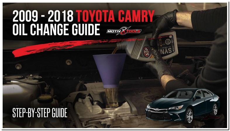2009 Toyota Camry Oil Specs