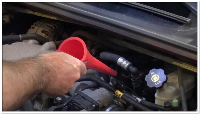 2011 Chevy Impala Transmission Fluid Type