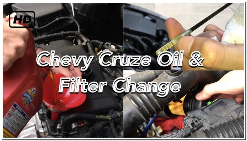 2013 Chevy Cruze Oil Change Type