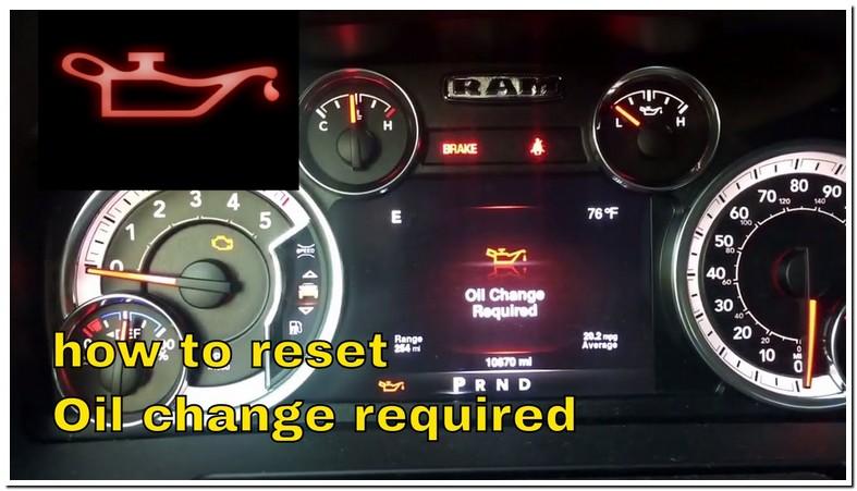 2015 Ram 1500 Ecodiesel Oil Change Reset