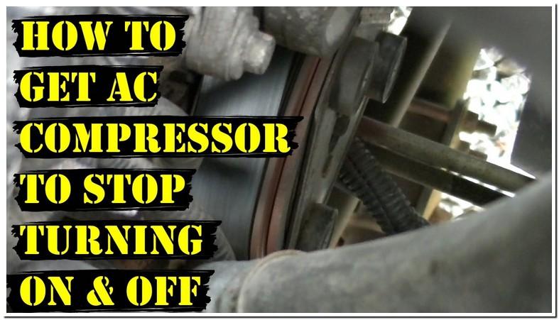 Ac Compressor Won Stay Engaged