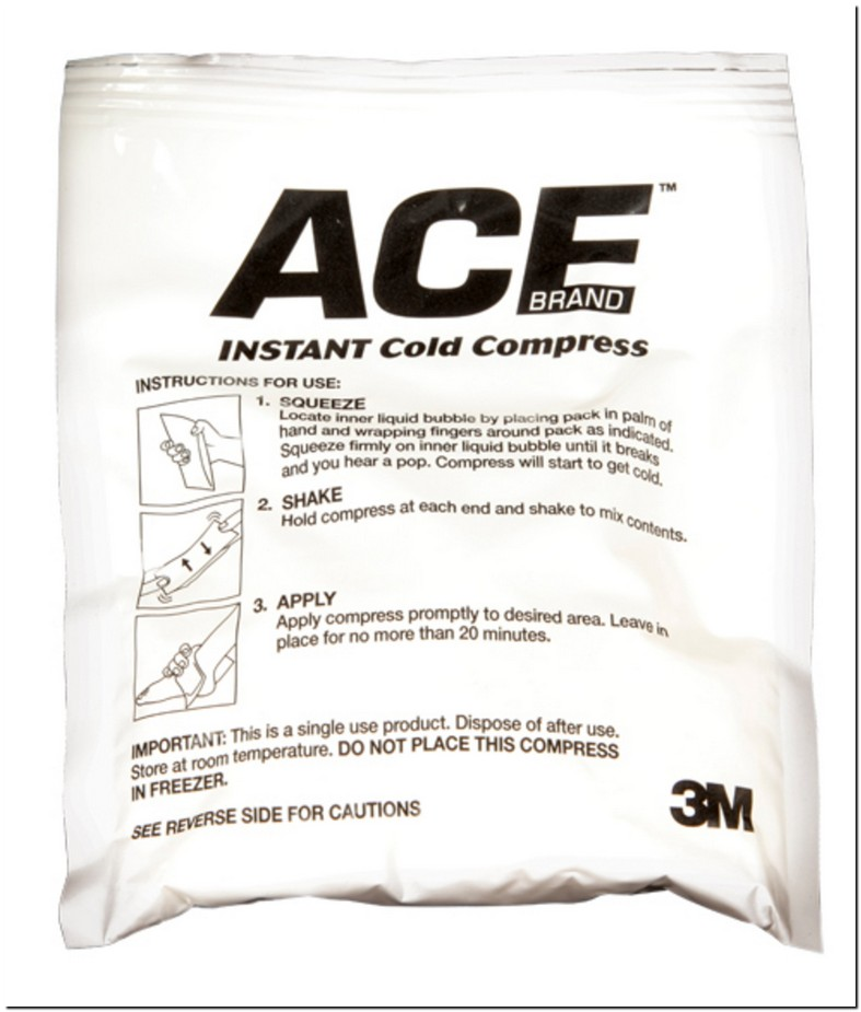 Ace Instant Cold Pack Ammonium Nitrate