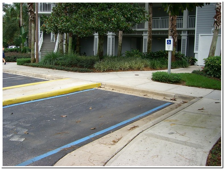 Ada Handicap Parking Requirements For Apartments