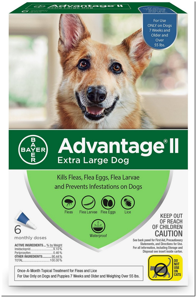 Advantage Ii Dosage For Cats And Dogs