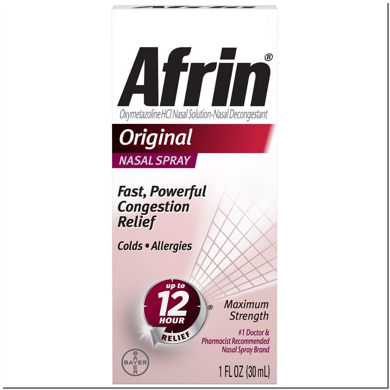 Afrin Nasal Spray Dosage