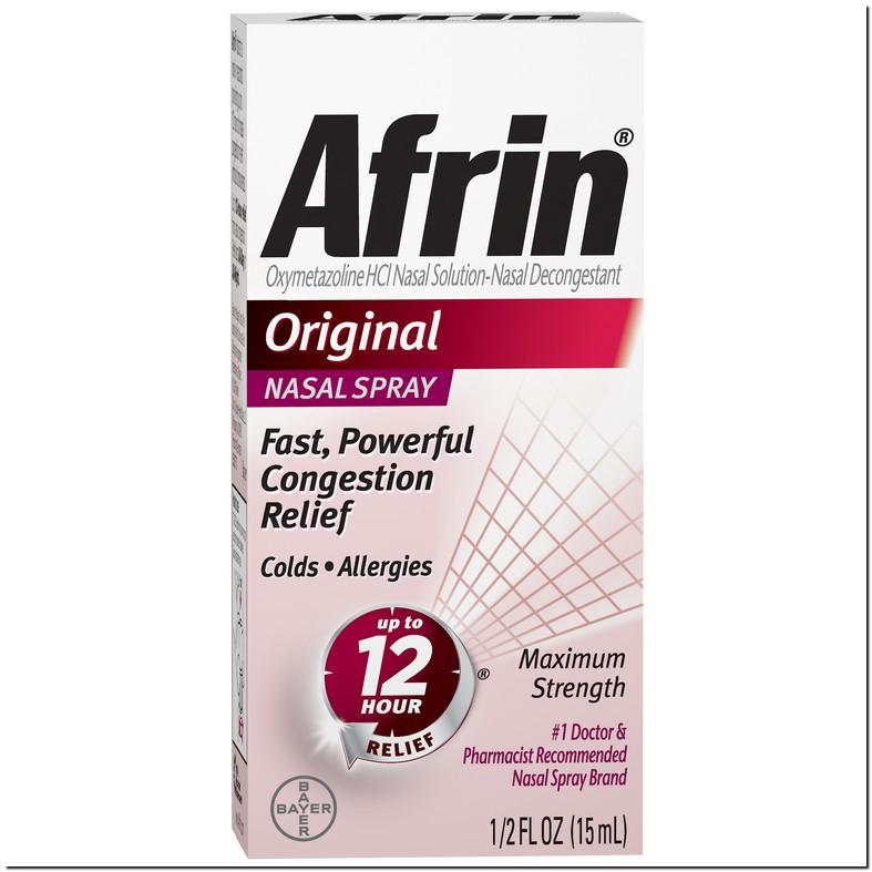 Afrin Nasal Spray Side Effects