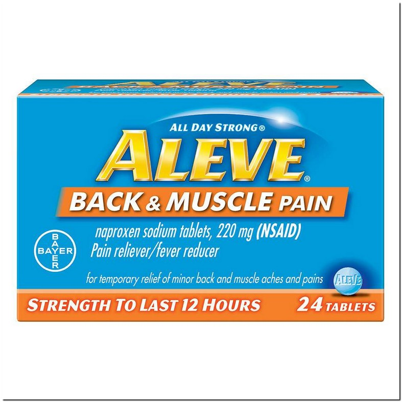 Aleve For Muscle Cramps