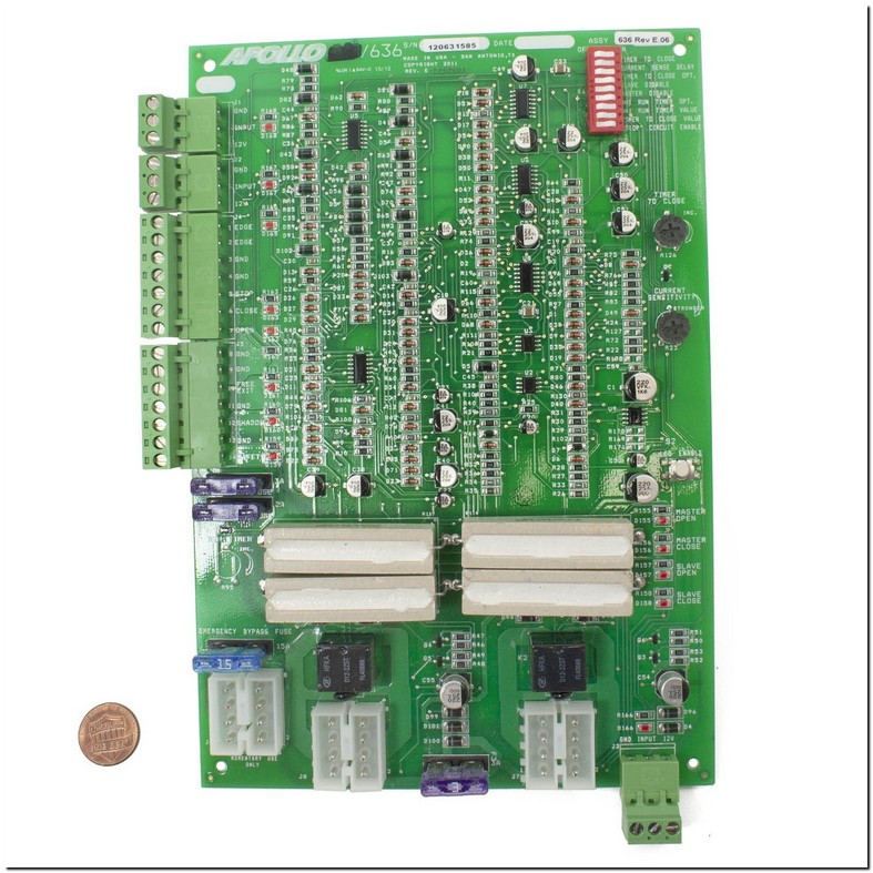 Apollo 1500 Gate Opener Circuit Board