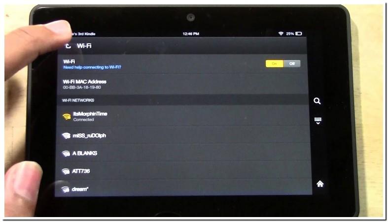 Authentication Problem Fire Tablet