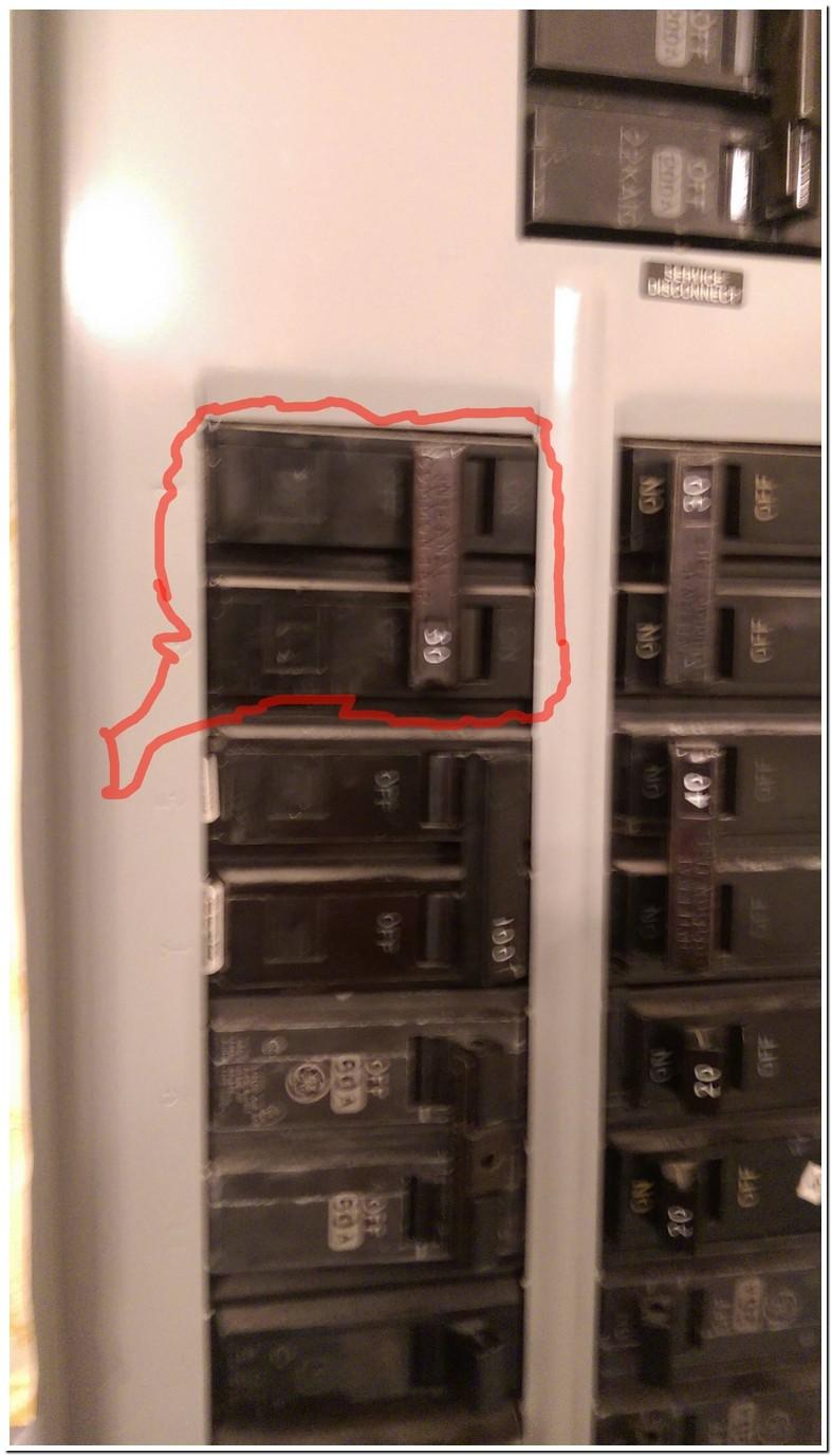 Bad Main Circuit Breaker Symptoms