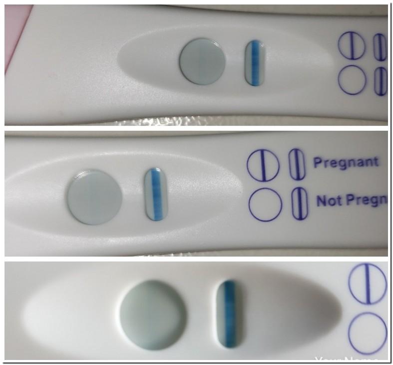 Blue Dye Pregnancy Test Dye Run