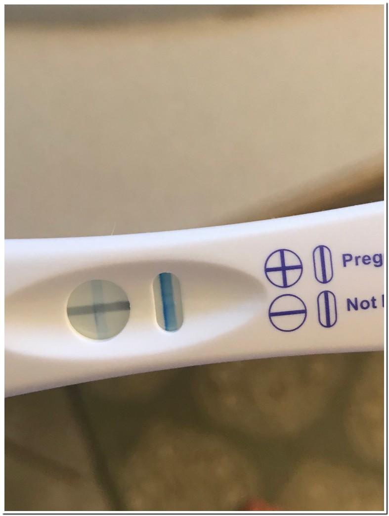 Blue Dye Pregnancy Test Evap Line