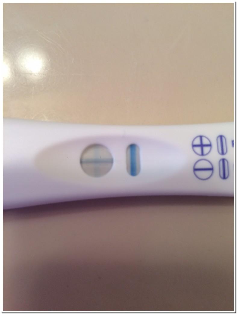 Blue Dye Pregnancy Test Faint Positive