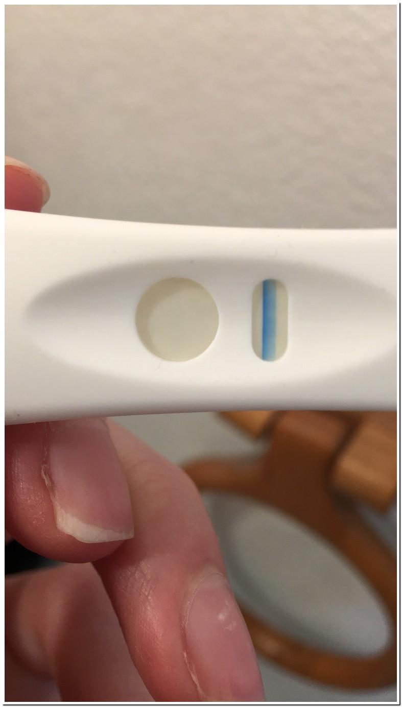 Blue Dye Pregnancy Test