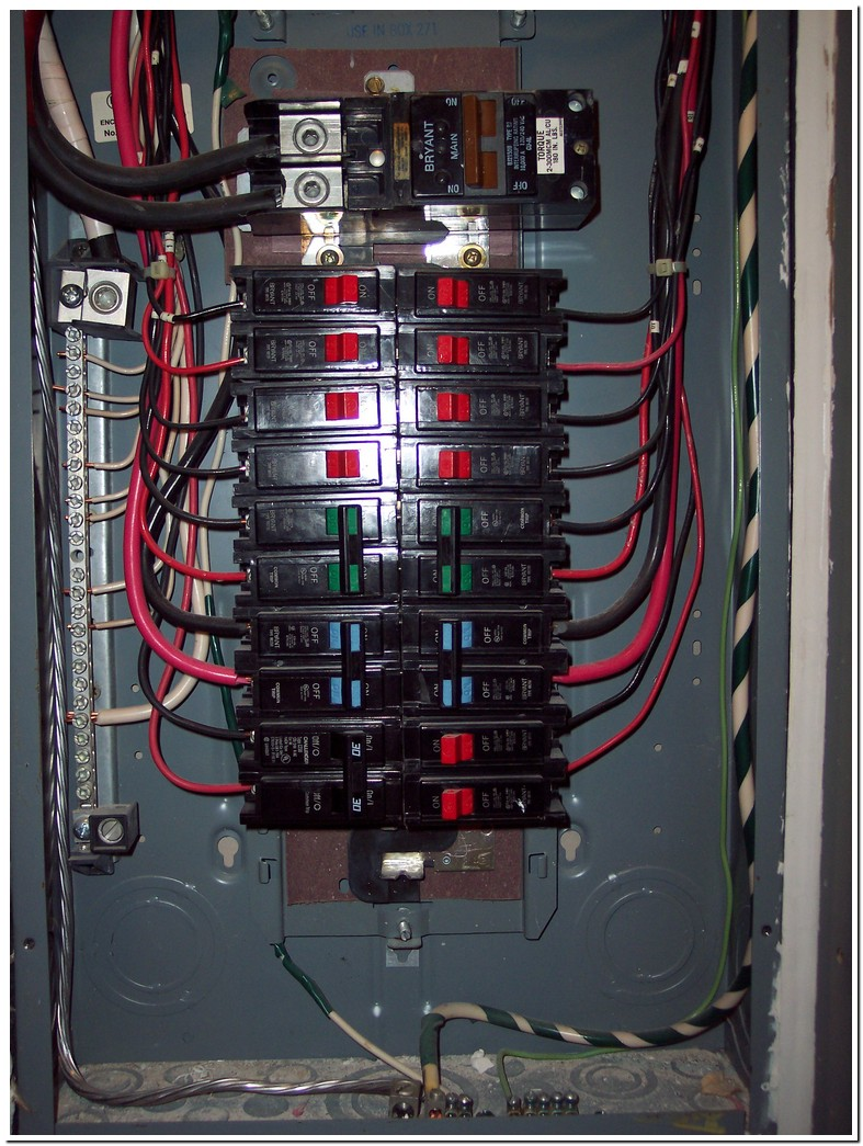 Bryant Electrical Panel