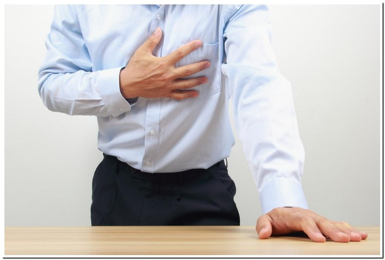 Burning Pain Under Left Breast