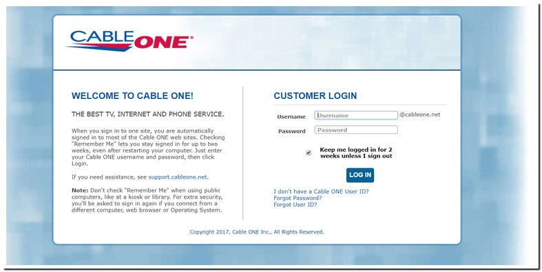 Cableone.net Mail