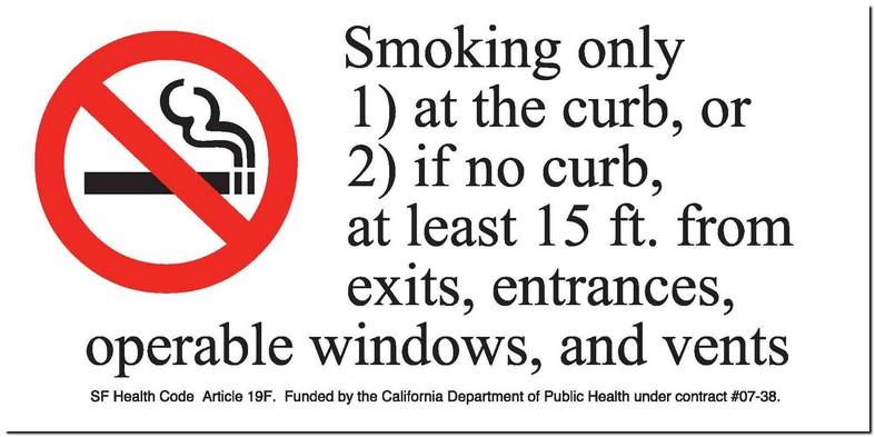 California Smoking Laws In Apartment Buildings