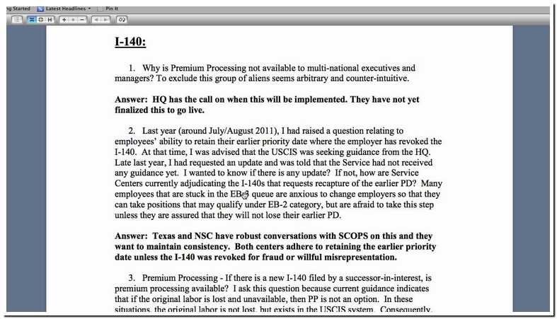 Can Employer Revoke I 140