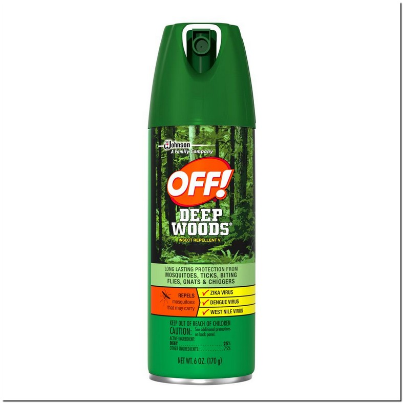 Can You Spray Deep Woods Off On Dogs