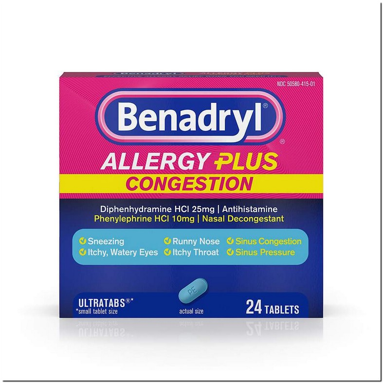 Can You Take Advil Sinus With Benadryl