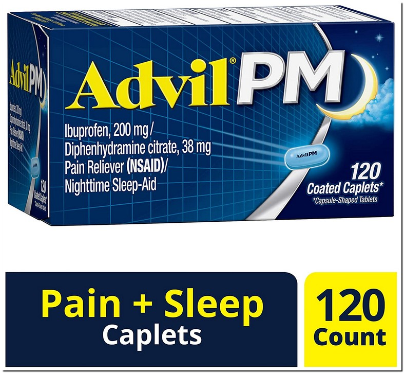 Can You Take Advil With Diphenhydramine