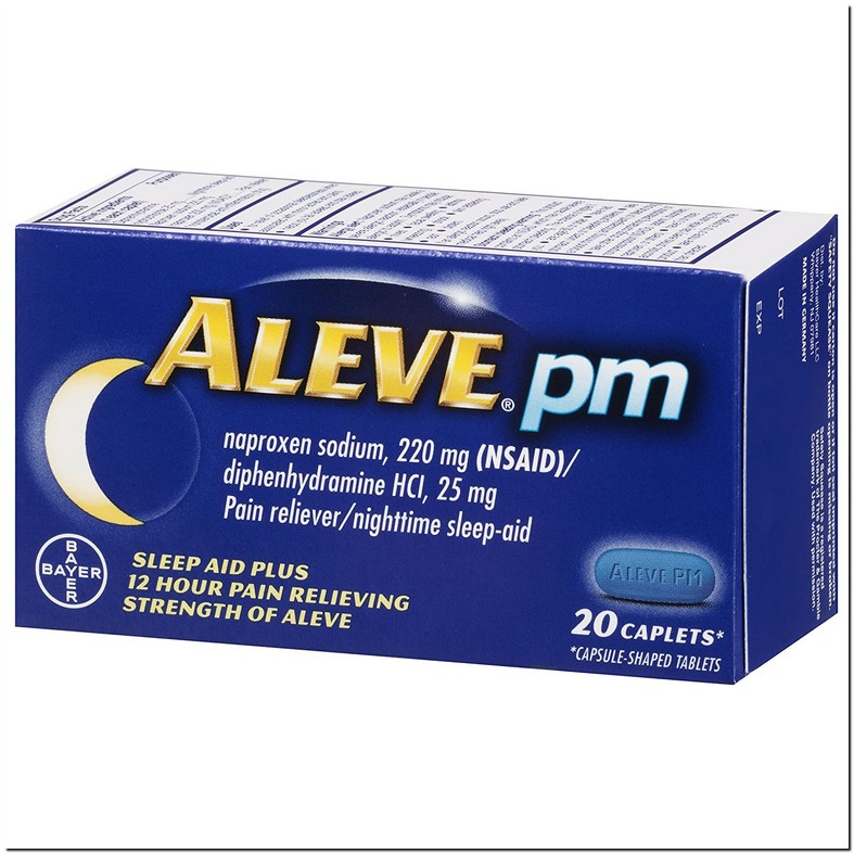 Can You Take Benadryl And Aleve Together