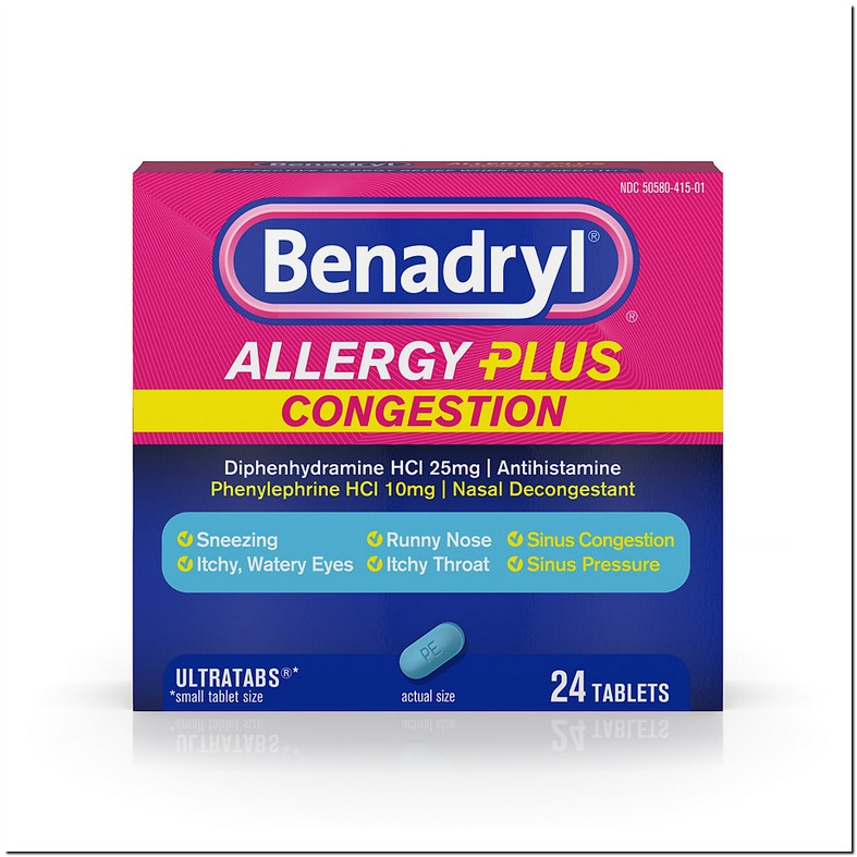 Can You Take Benadryl With Aleve D