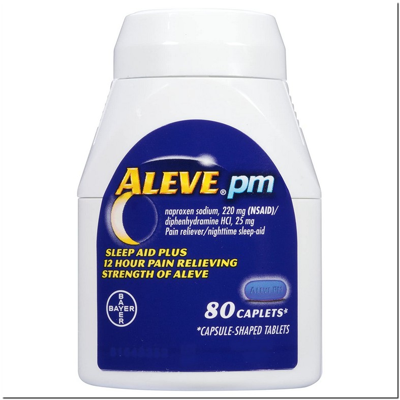 Can You Take Diphenhydramine With Aleve