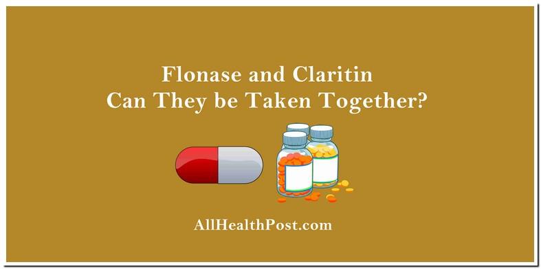 Can You Use Flonase Claritin Same Time