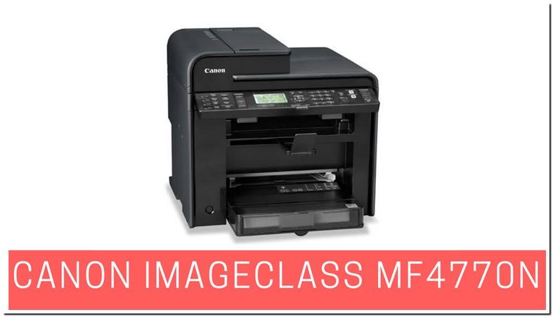 Canon Mf4770n Printer Driver Windows 10