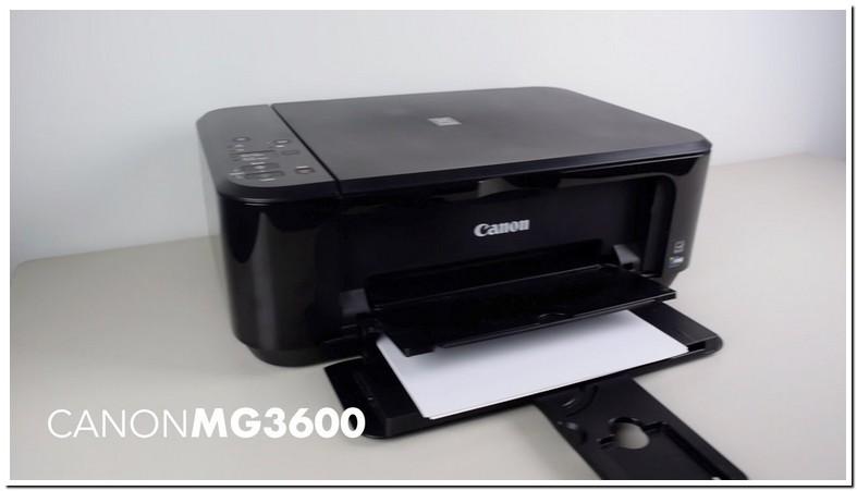 Canon Pixma Mg3600 Setup