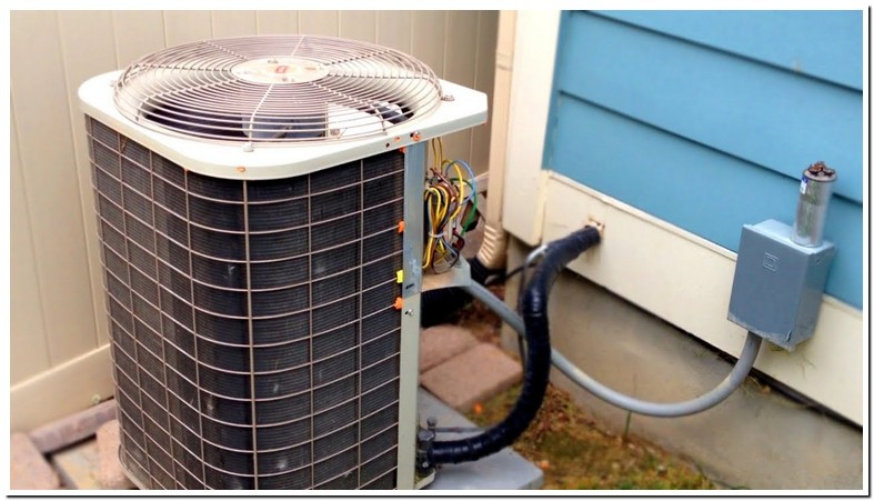 Central Air Conditioner Outside Fan Not Working