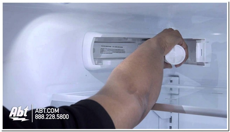 Changing Water Filter On Ge French Door Refrigerator